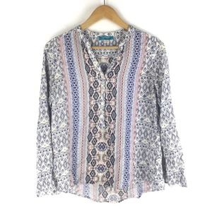 Buttons Geo Printed Popover Top S